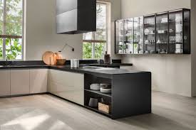 linear kitchen contemporary kitchen natural stone island 201511 quinto