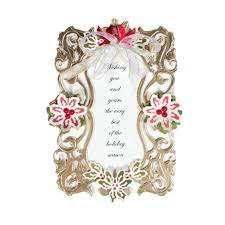 diy scrapbooking embossing file 3d hollow lace photo frame bird