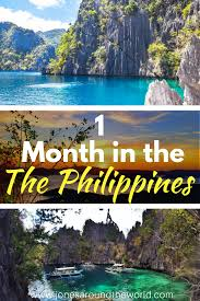 one month in the philippines the best travel itinerary for