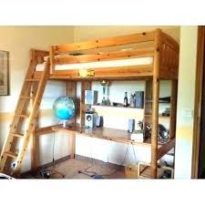 bureau 2 places lit mezzanine 1 place bois lit mezzanine bois blanc 1 place lit