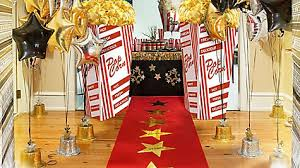 Bar Decoration Ideas Movie Theater Popcorn Bar Decorating Idea Red Carpet Hollywood