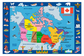 fun rugs funtime map of canada rugs ft 132