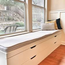 Ikea Window Bench by Bay Window Seating Bench With Storage Entryway Furniture Ideas