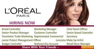 loreal paris france jobs