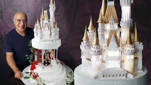 modern castle cake toppers for weddings with cake designs castle