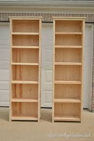 Wooden Bookshelves Plans by 14 Best Bookshelf Plans Images On Pinterest Easy Diy Projects