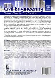 buy civil engineering through objective type questions book