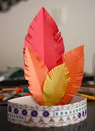free thanksgiving printables and craft ideas indian headband