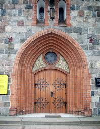 file artistic main door and portal of church of saint george in