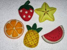 cara membuat gantungan kunci dari kain flanel bentuk kue tutorial membuat replika buah buahan dengan menggunakan kain flanel