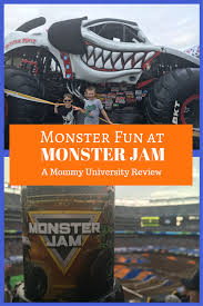 monster truck jam nj monster fun at monster jam mommy university