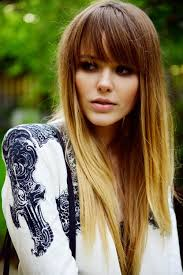 39 best long fringes bangs images on pinterest hairstyle hair