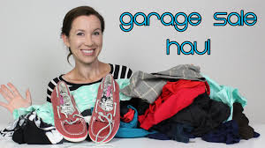 garage sale haul 1 designer clothes youtube