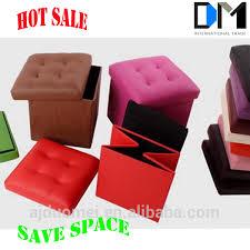 catchy folding storage ottoman simplify single folding upholstered