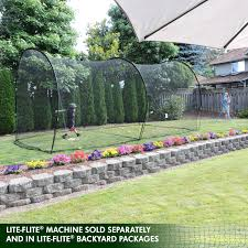Batting Cage For Backyard by Jugs Sports Lite Flite Small Ball Batting Cage Net