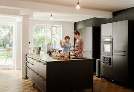 German Designer Kitchens by We Can U0027t Get Enough Of This German Apartment U0027s Sleek Matte Black