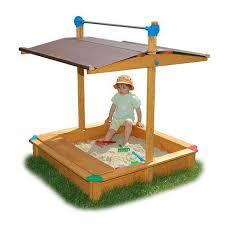 exaco maxi sandbox with adjustable roof toys