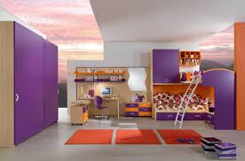 built in bunk beds bedroom modern kids bedroom with smart bunk bed idea feat built