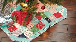 christmas tree skirt tutorial u2014 quilting tutorials