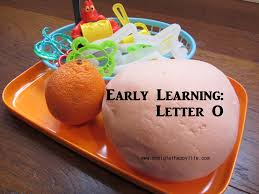 early learning letter o my big fat happy life