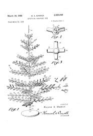 patent us2826845 artificial christmas tree google patents