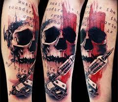 100 best skull tattoos for and tattoos hub
