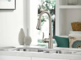 Touch Kitchen Faucet Boharers Kitchen Faucets Sensor Faucet Bushed Nickle Touch Motion