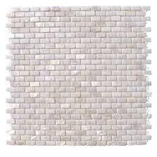 mini brick oyster white pearl tile mini brick pattern 16 99 also