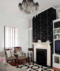 lovely wallpaper living room feature wall ideas on home designing