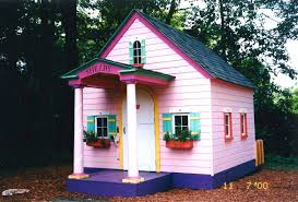 kids outdoor wooden playhouse ideas loccie better homes gardens