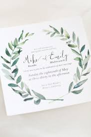 wedding invitations greenery hip green california wedding green weddings california wedding