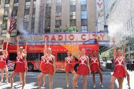 news radio city rockettes stop traffic on 6th avenue