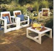free outdoor chair pattern woodworking plans and information at