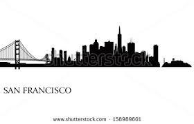 san francisco skyline illustration download free vector art