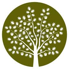 clip art oak tree clipart image 24866
