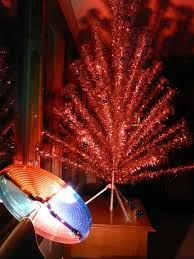 1960 s christmas tree lights stunning design ideas aluminum christmas tree with color wheel light
