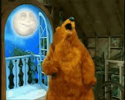 bear dancing in the big blue house gif know your meme