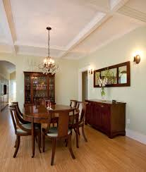 dining mirror design dining room craftsman with wall lighting