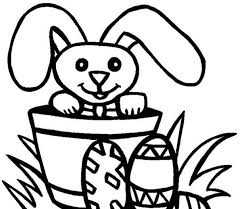 drawing easter bunny coloring page batch coloring