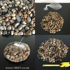 Small Decorative Vases Natural Colour Browns Decorative Stones Brand New In A Net 1kg In