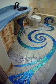 bathroom tile mosaic ideas mosaic bathroom floor tile color and interest to your bathroom by