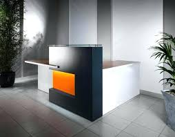 L Shaped Contemporary Desk Modern Reception Desks Image Of L Shaped Modern Reception Desks