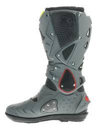 sidi motorcycle boots sidi black grey fluorescent crossfire 2 srs mx boot ebay