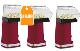 popcorn maker target black friday cuisinart cpm 100 easypop air popcorn maker red only 19 99