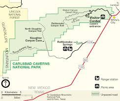 california map carlsbad file map of carlsbad caverns national park png wikimedia commons