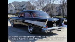 1957 chevy bel air big block classic muscle car for sale in mi