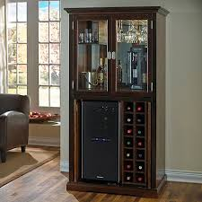 lovable wine bar cabinet upton home white shadowbox wine bar