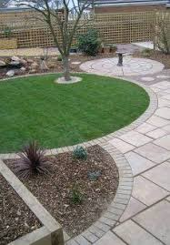 Low Maintenance Garden Ideas And A Putting Green With Chipping Area Nearby Garden And Deck