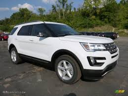 Ford Explorer Xlt - 2016 oxford white ford explorer xlt 4wd 106444191 gtcarlot com