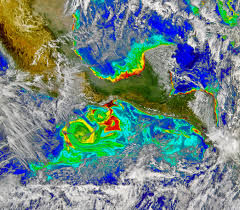 Earth Wind Map Tehuano Wind Colors The Ocean Image Of The Day